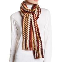 890295d1ac5 missoni-knit-wool-blend-fringe-brown-beige-zigzag-